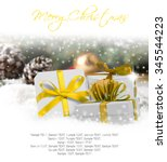 photo of gifts with colorful... | Shutterstock . vector #345544223