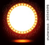 abstract shining retro light... | Shutterstock .eps vector #345545498