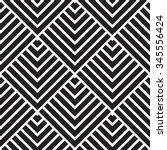 vector seamless pattern. modern ... | Shutterstock .eps vector #345556424