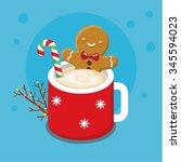 Christmas Card With Nice...