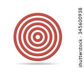 target vector illustration.   Shutterstock .eps vector #345600938