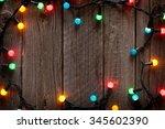 Christmas Colorful Lights Fram...