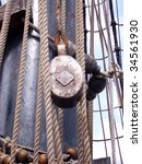 Rigging Of An Old Sailing...