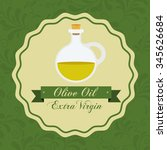 olive oil design  vector... | Shutterstock .eps vector #345626684