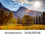 Sunrise On Half Dome  Yosemite...