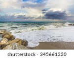 Rocky Beach With Sea View ...