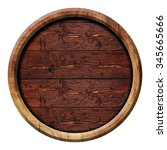 Circle Wooden Buttons ...