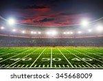 football stadium before the... | Shutterstock . vector #345668009