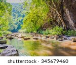 Image Of River And Forest On...