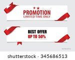 end of year sale  christmas...   Shutterstock .eps vector #345686513