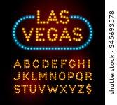 light bulb font vector