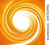 vector ripple fond with space... | Shutterstock .eps vector #345703946