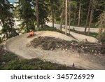 bike trail austria  | Shutterstock . vector #345726929