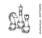 The Game Of Chess  Chess Piece...