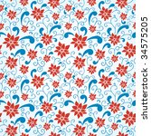 colorful seamless pattern | Shutterstock . vector #34575205