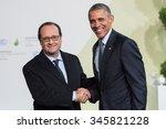 le bourget  france   november... | Shutterstock . vector #345821228