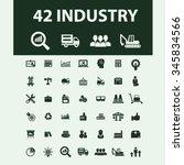industrial business  factory ... | Shutterstock .eps vector #345834566