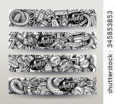 graphics vector hand drawn...   Shutterstock .eps vector #345853853