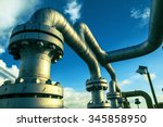 offshore the industry oil and... | Shutterstock . vector #345858950
