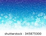 holiday snowy background with...   Shutterstock .eps vector #345875300