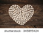 the heart of the seeds | Shutterstock . vector #345895424