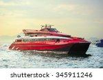 Macao To Hong Kong Ferry Boats...