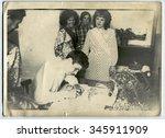 ussr   circa 1980s  an antique... | Shutterstock . vector #345911909