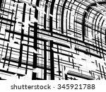 grunge stripes   Shutterstock .eps vector #345921788
