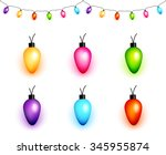 Colorful Christmas Light Bulbs...