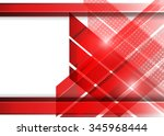 red abstract background | Shutterstock .eps vector #345968444