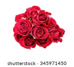 Stock photo bouquet of roses 345971450