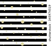 striped background and gold... | Shutterstock .eps vector #345974519
