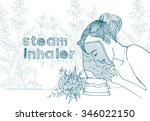 steam inhalers   Shutterstock .eps vector #346022150