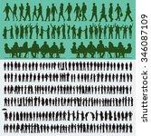 vector business people... | Shutterstock .eps vector #346087109