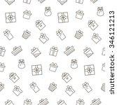 present seamless pattern.  | Shutterstock . vector #346121213