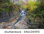 okatse canyon  georgia | Shutterstock . vector #346134593