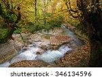okatse canyon  georgia | Shutterstock . vector #346134596