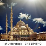 istanbul the capital of turkey  ... | Shutterstock . vector #346154540