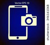 mobile camera  photo vectora