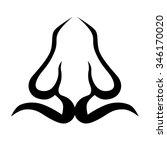 tribal tattoo vector design... | Shutterstock .eps vector #346170020