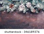 christmas holidays background... | Shutterstock . vector #346189376