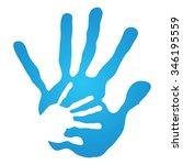 vector concept human or mother...   Shutterstock .eps vector #346195559