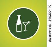 beer glass   bottle icon | Shutterstock .eps vector #346200440