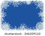 abstract christmas background.... | Shutterstock .eps vector #346209110