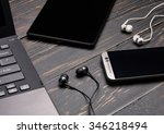 laptop  smart phone  tablet pc... | Shutterstock . vector #346218494