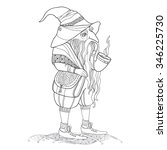 Mythological Gnome Or Dwarf...