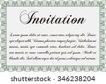 invitation template. with... | Shutterstock .eps vector #346238204