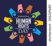 vector illustration of human... | Shutterstock .eps vector #346269680