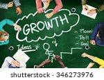 growth planning ideas goal... | Shutterstock . vector #346273976