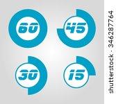 set timers | Shutterstock .eps vector #346287764